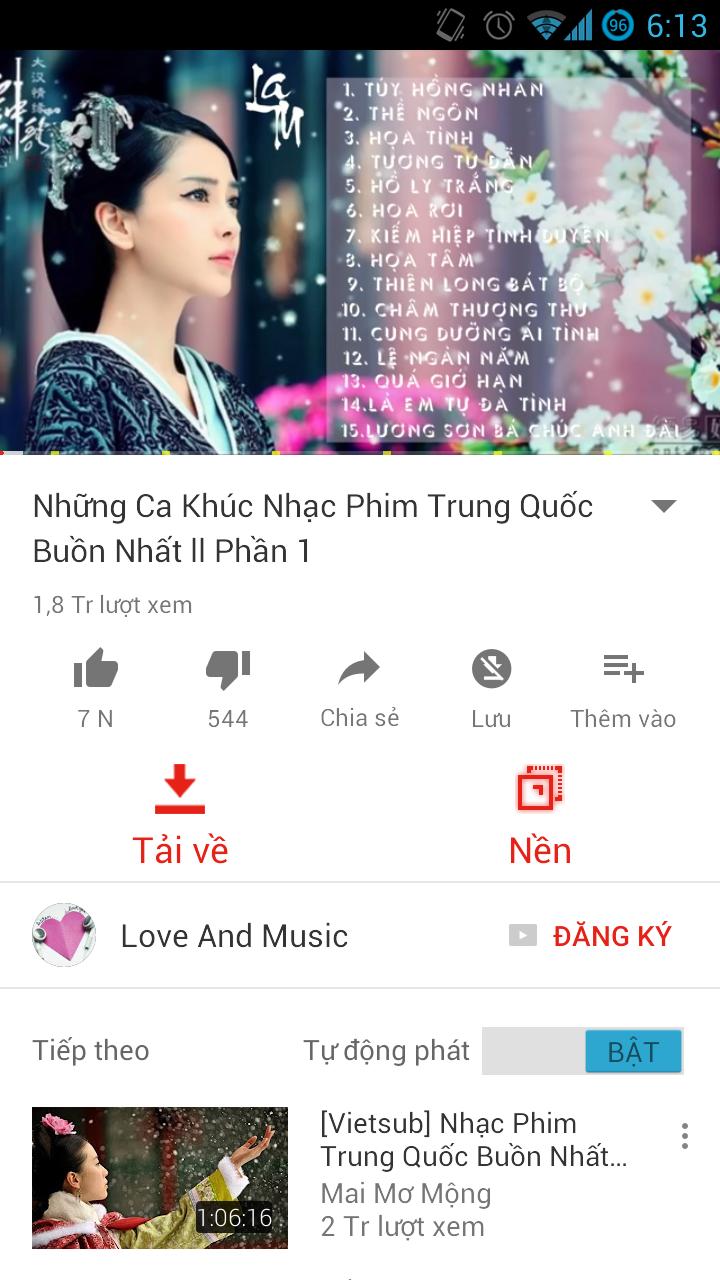 OgYoutube : Phiên bản Youtube Red mini