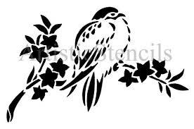 7 Patterns Kirigami Stencil Bird loài chim tuyệt đẹp
