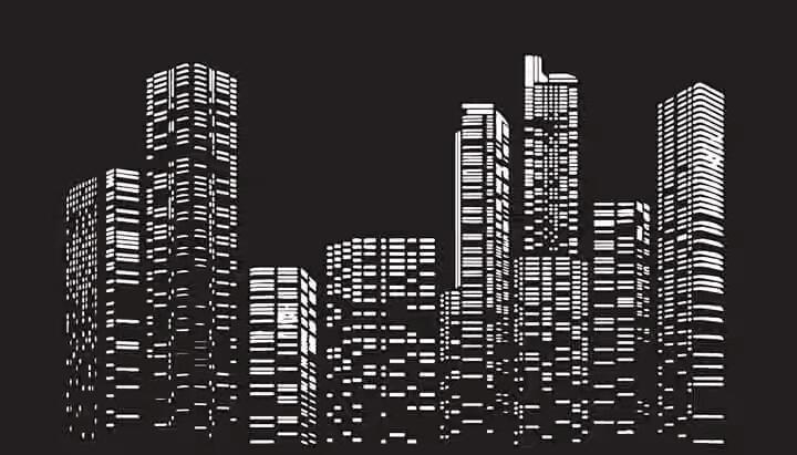 City Buildings : Thành phố ban đêm
