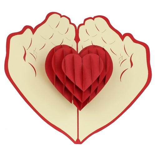 Heart Of Hand: Đôi bàn tay đựng cả trái tim yêu thương