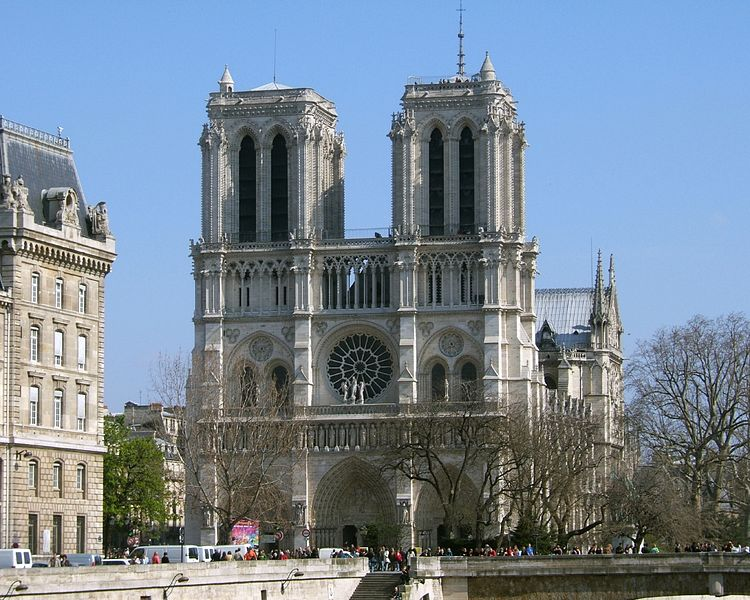 Notre Dame De Paris : Nhà thờ Đức Bà Paris