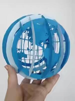 Geographic globe: Quả cầu địa lý